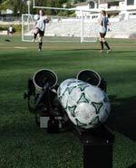 Pro trainer soccer ball machine