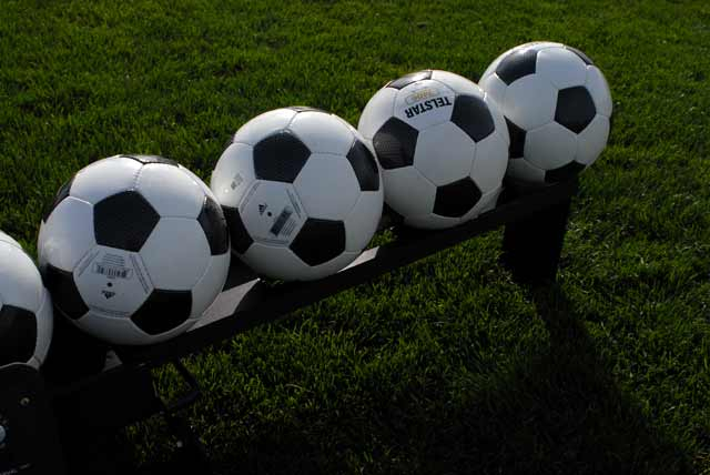 soccer balls for training