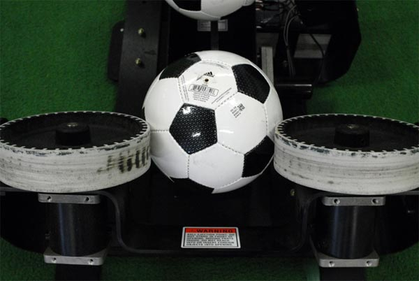 cu soccer ball machine