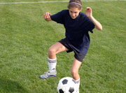 soccer machine training